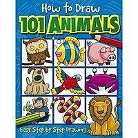 $  3.61 How to Draw 101 Animals Paperback @ Amazon