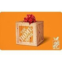 $110 Home Depot Gift Card (Email Delivery) $100 back again