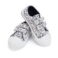 KonForme Toddler Sneakers for Boys and Girls Cartoon Dual Hook and Loops Sneakers Baby Canvas Shoes $7.79 - $11.39 AC
