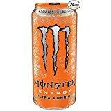 Monster Energy Drink - Grape or Orange 24 cans 16oz for Prime Memebers - Amazon