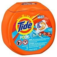2 X Tide PODS Laundry Detergent 42 count, $  10.58 with Target Cartwheel & $  5 GC (In Stores Only)