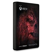 Seagate Game Drive for Xbox, 2TB Halo Wars 2 Edition for $69.99