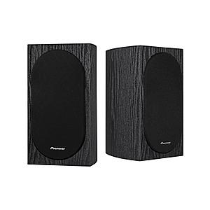 PIONEER Speakers (Andrew Jones) $80 SP-BS22-LR -- $135 Dolby Atmos SP-BS22A-LR -- $65 SP-C22 center ch spkr -- $85 SP-T22A-LR Dolby Atmos Add-on Speakers