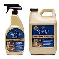 granite gold granite cleaner refill and sprayer $12.99 at Amazon -lowest