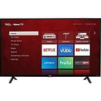 "Sam's Club: 43"" TCL 43S403 4K UHD HDR Roku Smart LED HDTV $199.88 & More + Free Shipping (Plus Members)"
