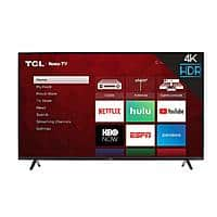 "50"" TCL 50S421 4K UHD HDR Smart LED HDTV (Refurbished) $169.15 + Free Shipping @ Vip Outlet via eBay"