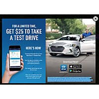 Free NFL Team Cling (Select Teams) + $  25 Gift Card with Vehicle Test Drive (Mobile App Required - Only in CA, MO, RI, LA, MA, VA, IL) @ Hyundai