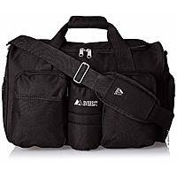 Everest Gym Bag with Wet Pocket - Black $13.72 FS w/ Prime