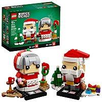 LEGO BrickHeadz Mr. & Mrs. Claus 40274 Building Kit (341 Pieces) $9.09 FS w/ Prime