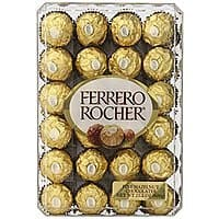 Ferrero Rocher, Hazlenut, 48 Count, add on item $8.99