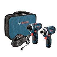 Bosch CLPK27-120 12V Max Li-Ion Drill/Driver and Impact Driver Kit $99 or less