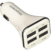 34w 4 Port USB Car Charger $  4