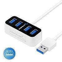 Sabrent 4-Port USB 3.0 Mini Hubs: Type-C $7.75, Type-A $4.95