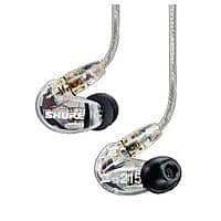 Shure SE215 Sound Isolating In-Ear Headphones (Black or Clear) $69 + Free Shipping