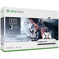 $200 + free s/h TB Microsoft Xbox One S Bundle (Star Wars Jedi: Fallen Order, Star Ward Knights of the Old Republic, Star Ward Knights of the Old Republic: The Sith Lords)