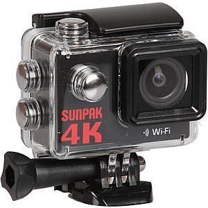 Sunpak 4K WiFi Action Camera w/ 9-Piece Accessory Kit $25 + Free Shipping