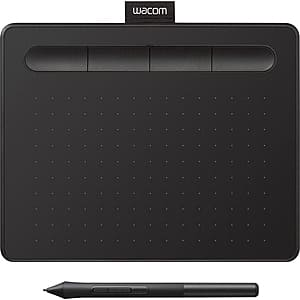 (refurb) Wacom Tablets: CTL4100 Intuos $49, UCTL4100WLE0 w/ BT $60, One by Wacom $45, CTL6100WLK0 BT $129 (less w/ SD Cashback) + Free S/H