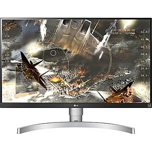 "27"" LG 27UK650-W 4K 3840x2160 UHD HDR 10 IPS FreeSync Monitor $299 (or less w/ SD Cashback) + free s/h @ Buydig"