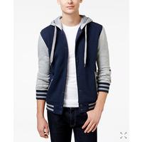 Ring of Fire Men's Hooded Varsity Jacket for $  9.59 Shipped @ Macy's