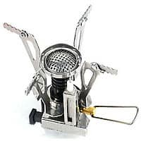 ltralight Backpacking Canister Travel Camp Stove Burner with Piezo Ignition for $  4.98 w/ FS @ eBay