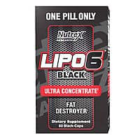 Lipo 6 Black Ultra Concentrate by Nutrex - $  17.99 on eBay w/ Free Shipping