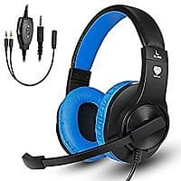 Gaming Headset with Mic for Xbox One, PS4, Nintendo Switch $11.99 AC at Amazon