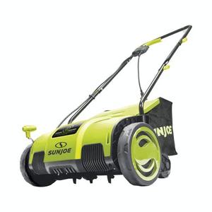 """Joe's Deal of the day"" Sun Joe AJ798E Electric Lawn Dethatcher | 13 inch | 11.5 Amp | AirBoost Technology | AJ798E $79.99"