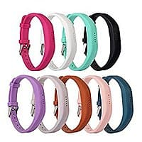 $  11.99 for a 9-Pack of Fitbit Flex 2 bands on Amazon