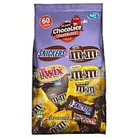 33.9oz MARS Chocolate Favorites Fun Size Candy Bars (60-Piece Bag Variety Mix) $  6.02 @Amazon