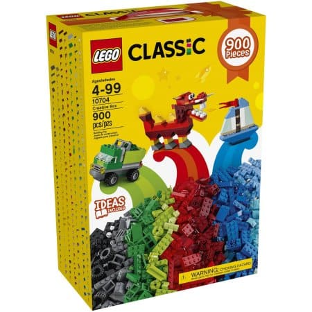 LEGO Classic Creative Box, 10704 (BF Sale) - Duplo / Classic 900 pieces $20