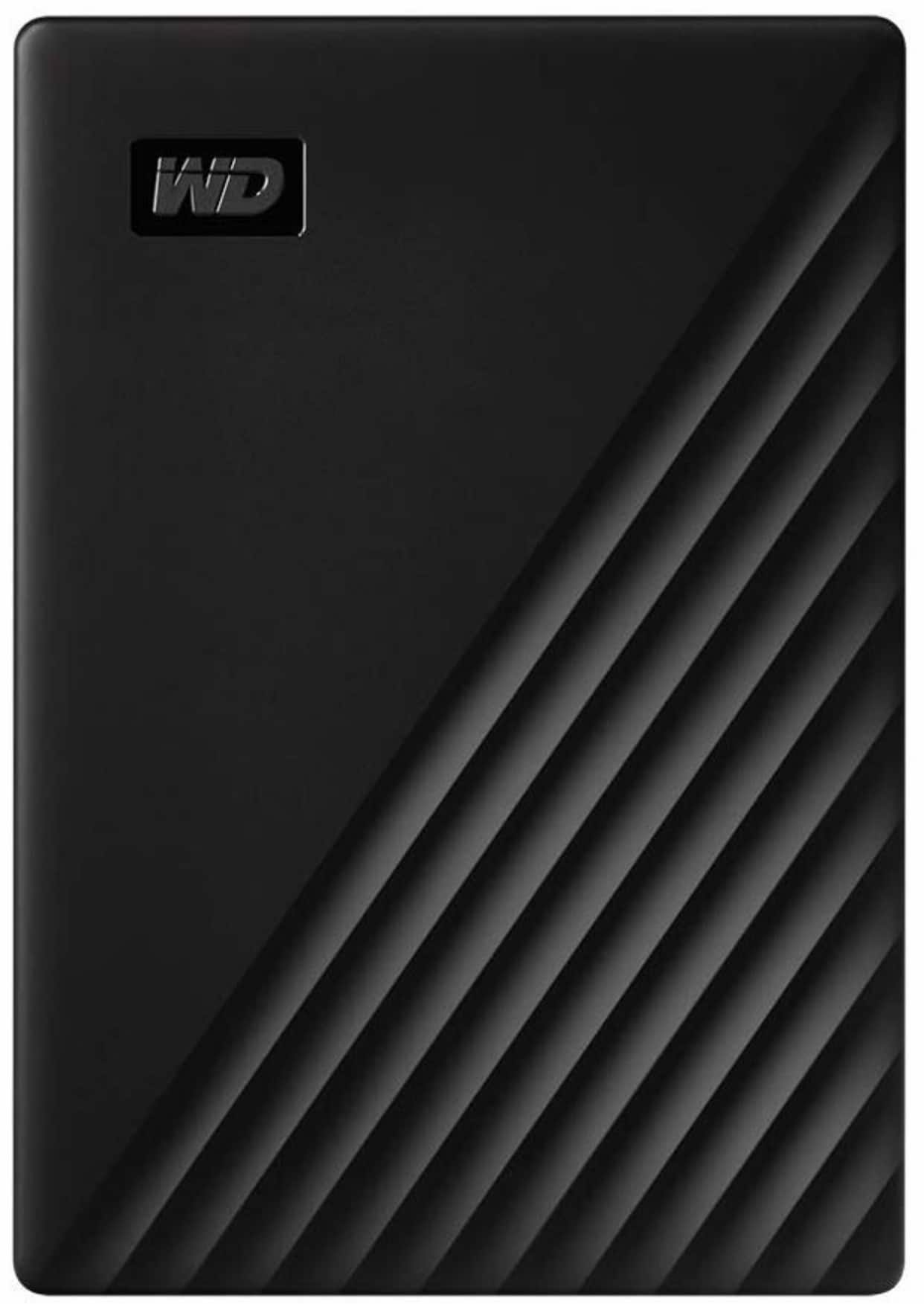 WD 2TB My Passport External Hard Drive $58 on Amazon