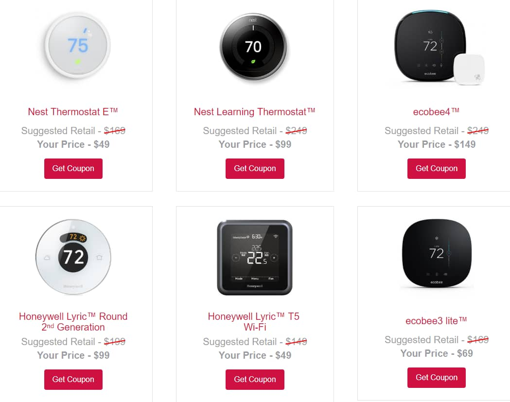 $100 off Smart Thermostats for ComEd Customers
