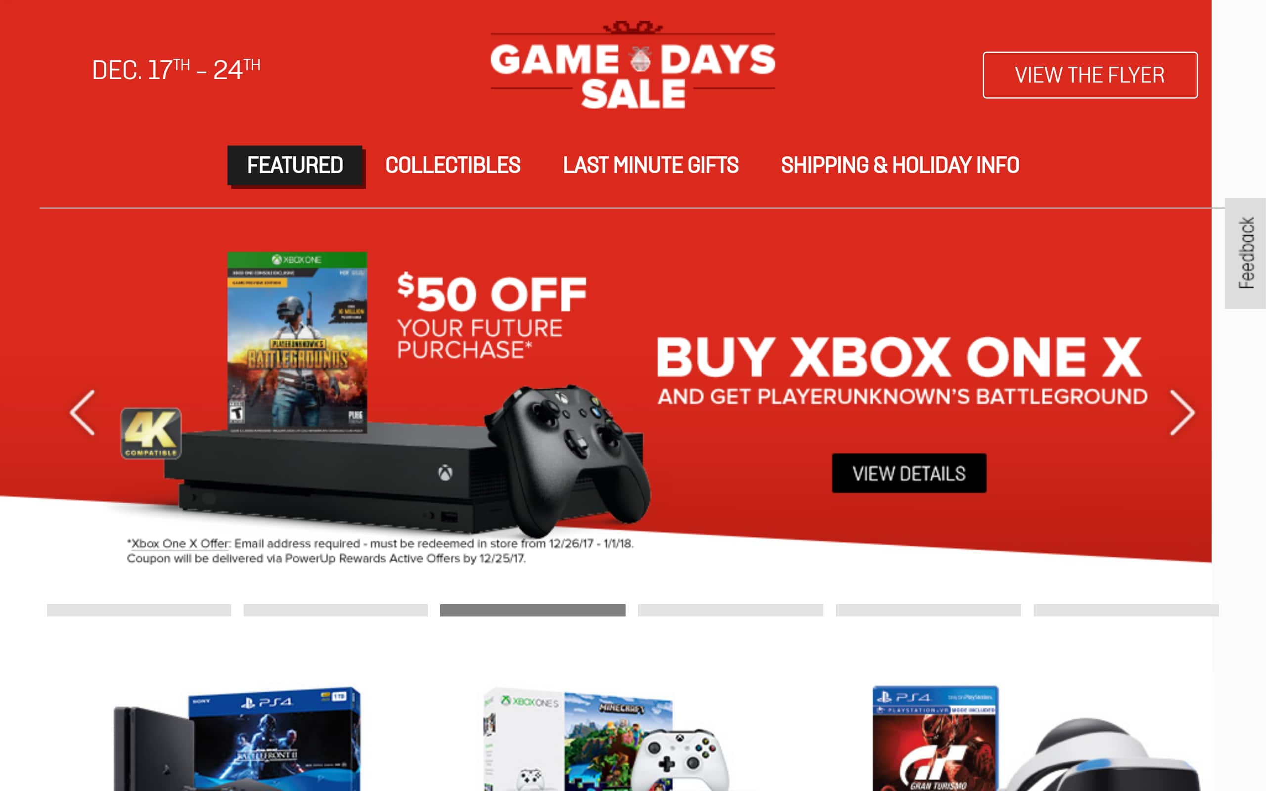 Xbox One X w/ PUBG and $50GC for $499 at GameStop
