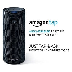 Amazon Tap - Alexa-Enabled Portable Bluetooth Speaker (refurb) $49.99