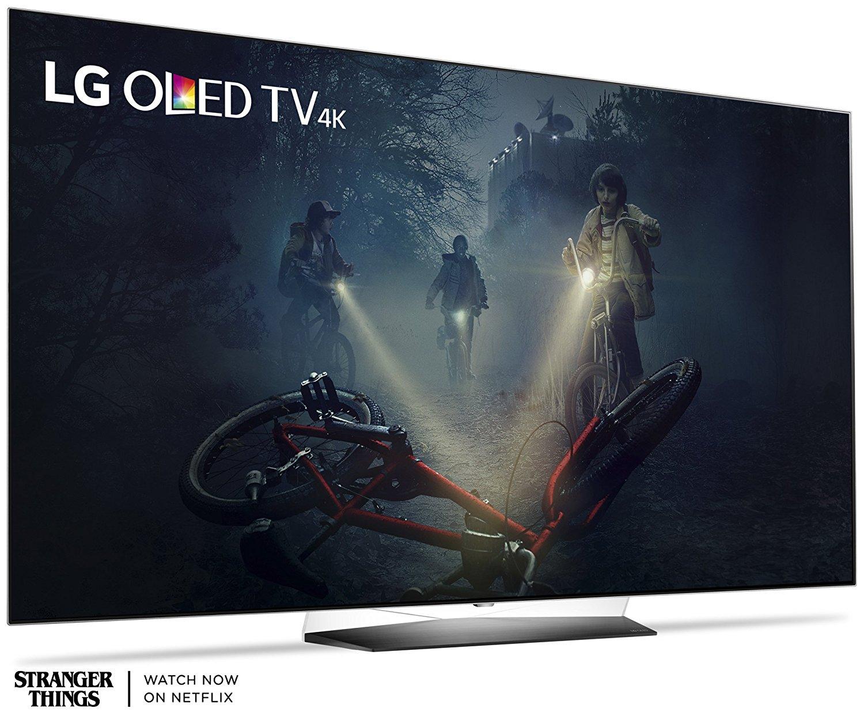 AMAZON $1894.95 LG Electronics OLED65B7A 65-Inch 4K Ultra HD Smart OLED TV (2017 Model) $1894.95