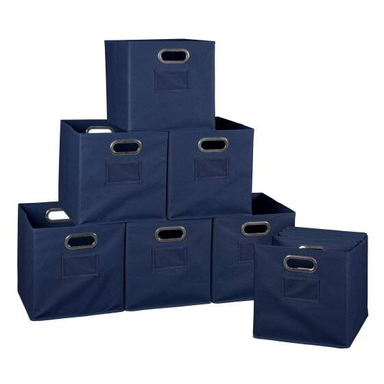 Cube storage Bins Set of 6- $13, Set of 12- $24 free in store pick up