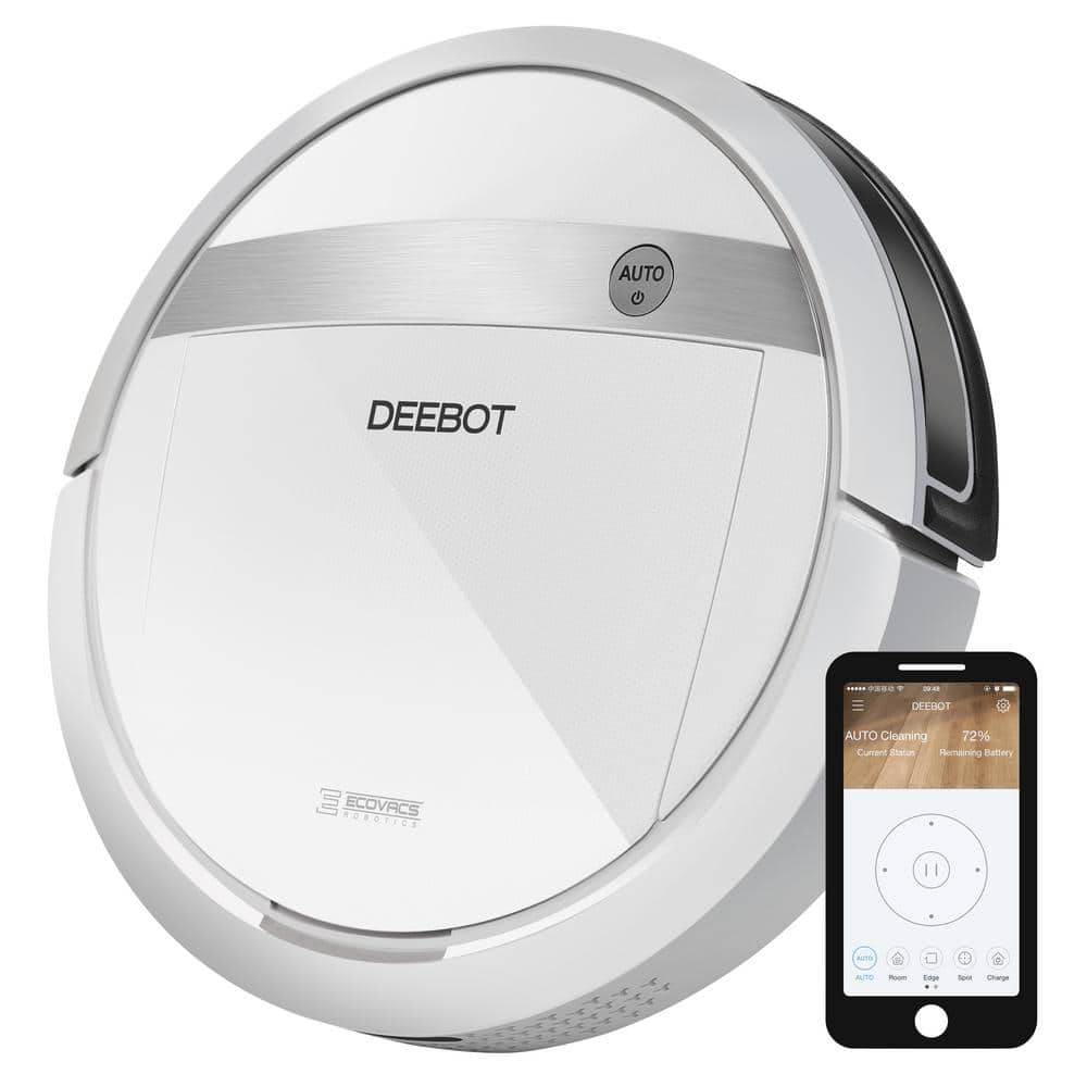 Ecovacs DEEBOT WiFi/Smartphone Controlled Robotic Vacuum Cleaner with Advanced Wet/Dry Mop $229.99