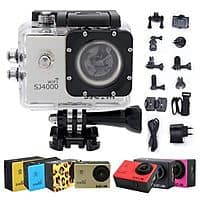 eBay Deal: SJ4000 WiFi Action Camera with accessories bundle $79 eBay