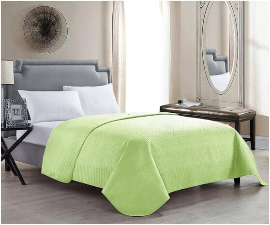 Solid Color Bed Quilts Multiple Sizes Starting at $11.49 AC FS w/ Prime