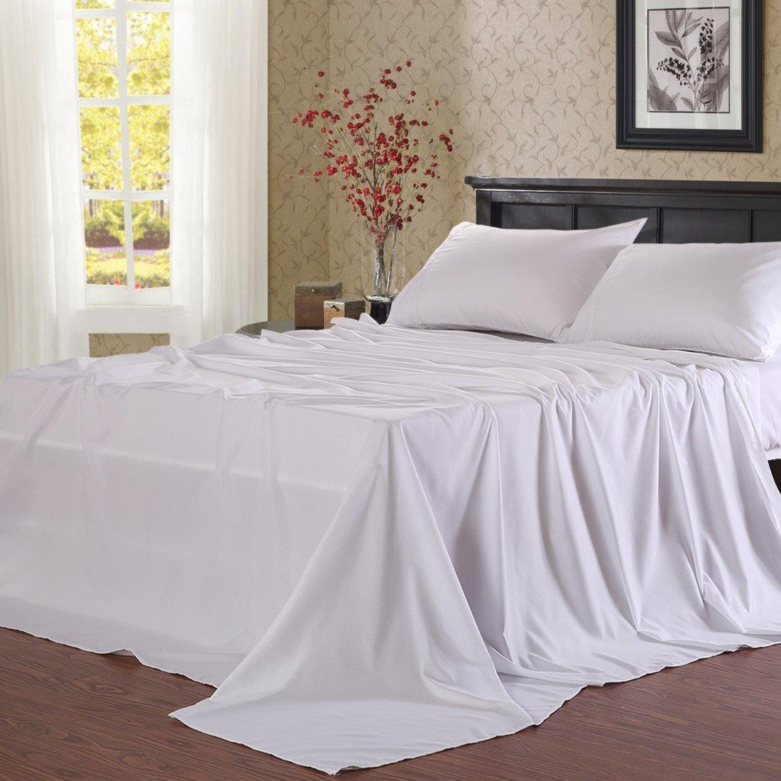 Deep Pocket Microfiber Bed Sheets $17.43 AC FS w/ Prime