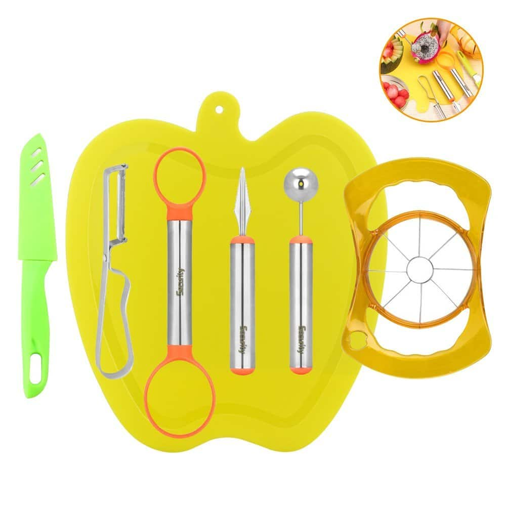 7-Piece Stainless Steel Fruit Tool Set $7.20 AC FS w/ Prime