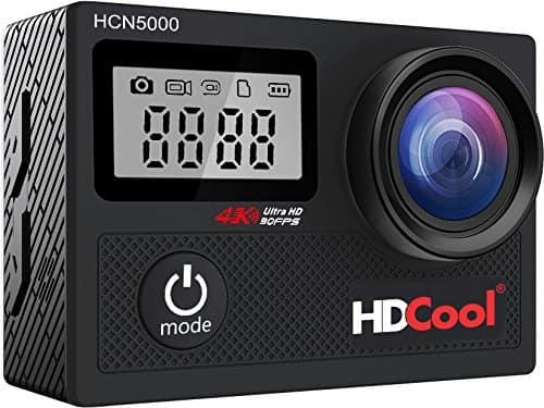 Waterproof 4K Action Camera w/ 2 Batteries $55.99 AC FS w/ Prime