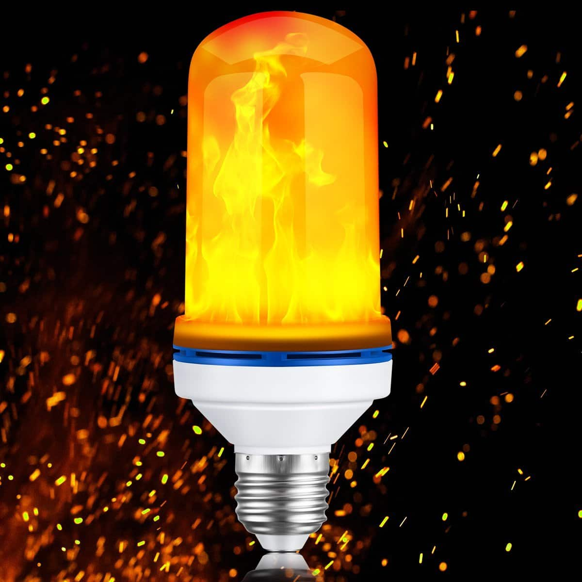 LED Flame Flickering Light Bulb $12.95 AC FS w/ Prime