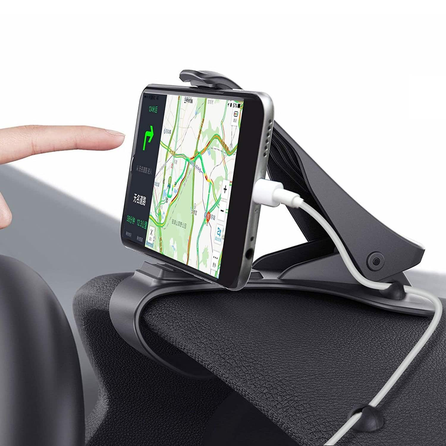 Heads-Up Clip-Style Vehicle Dashboard Mount for Smartphones $9.09 AC FS w/ Prime