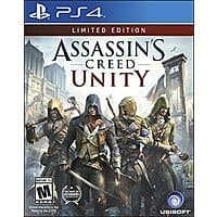 Amazon Deal: Assassin's Creed Unity Limited Edition PS4 $16.00 - XBOXONE $14