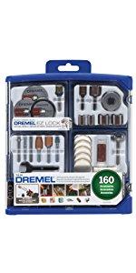 Dremel 710-08 All-Purpose Rotary Accessory Kit, 160-Piece $17.71 FS w/ Prime