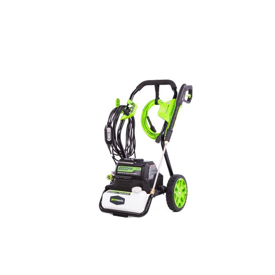 Lowe's (Daily deal: 05/16/2018) - Greenworks 2000-PSI 1.2-Gallon-GPM Water Electric Pressure Washer @ $129