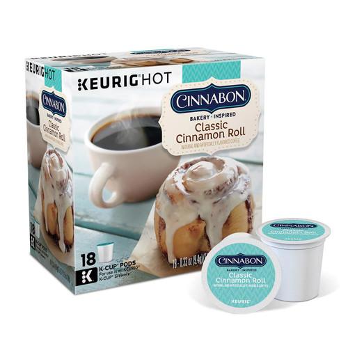 Keurig - Cinnabon Classic Cinnamon Roll K-Cup® Pods (18-Pack)  $ 9.99@Bestbuy $9.99