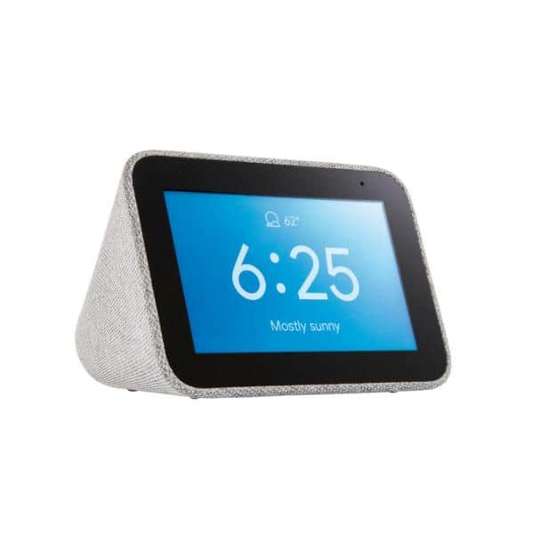 Lenovo Smart Clock with the Google Assistant $39.99