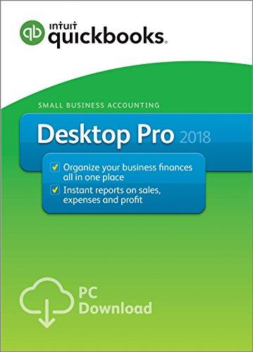 QuickBooks Desktop Pro 2018 $149.99